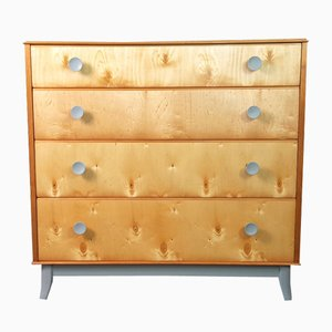 Mid-Century Walnut Veneer Chest of Drawers by Vesper for Gimson & Slater, 1950s
