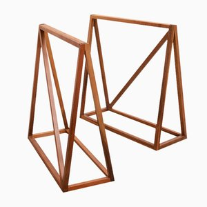 Le Trèteau Table Bases by Zascho Petkow, Set of 2