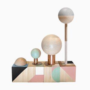 Sculptures KOSO Family par Carolina Melis, Set de 4