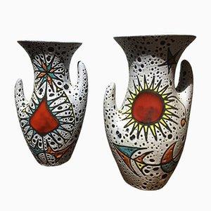 Vasen, 1960er, 2er Set