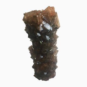 Vaso M041 in cristallo di Isaac Monté