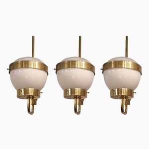 Wall Lights by Sergio Mazza for Artemide, 1950s, Set of 3
