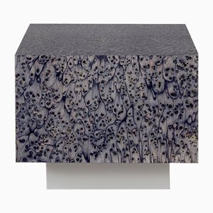 Table Osis Edition 1 Cube Haze en Gris par LLOT LLOV