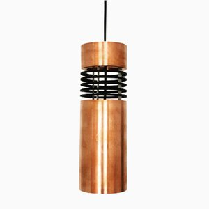 Danish Copper Pendant Lamp, 1960s