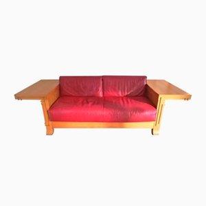 Canapé Deux Places Robie 3 en Cuivre par Frank Lloyd Wright pour Cassina, 1989