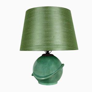 Lampada da tavolo in ceramica, anni '30