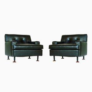 Viereckige Sessel von Marco Zanuso für Arflex, 1962, 2er Set