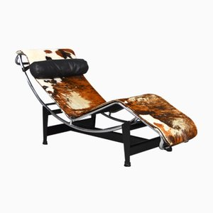 LC4 Chaise Lounge von Le Corbusier für Cassina, 1960er