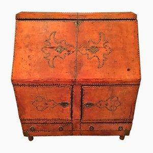 19th Century French Leather Bureau