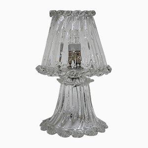 Lampada da tavolo vintage di Ercole Barovier per Barovier & Toso, anni '40