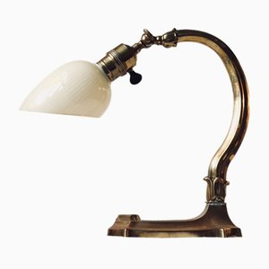Lampe de Bureau Art Nouveau, Danemark, 1920s