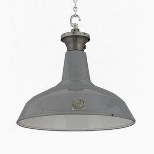 Industrielle Fabriklampe von Benjamin, 1950er