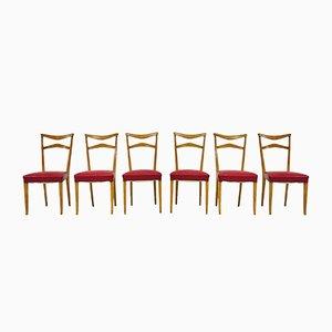 Stühle von Ico & Luisa Parisi, 1940er, 6er Set
