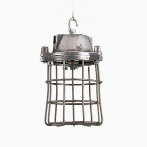 Lámpara colgante industrial, años 50