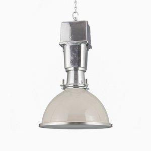 Lámpara de techo de fábrica británica de Thorlux, años 50