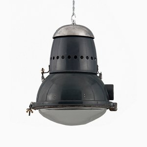 Hungarian Industrial Ceiling Lamp, 1950s
