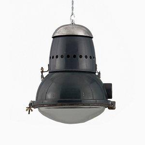 Lampada da soffitto industriale, Ungheria, anni '50