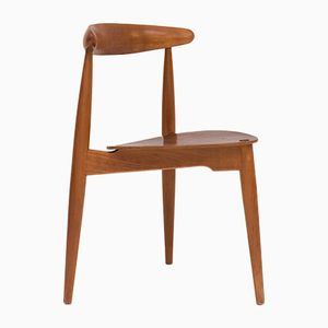 Dining Chair by Hans Wegner for Fritz Hansen and Raymor, 1950s