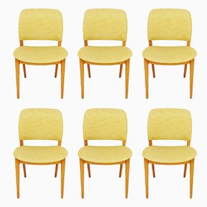 Mid-Century Scandinavian Chairs, Set of 6