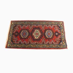 Vintage Middle Eastern Small Wool Rug