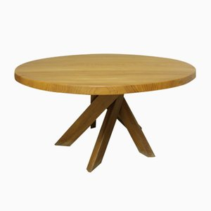 T21 Dining Table by Pierre Chapo, 1970s