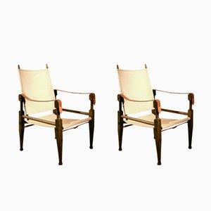 Chaise Colonial Vintage par Wilhelm Kienzle pour Wohnbedarf, Set de 2
