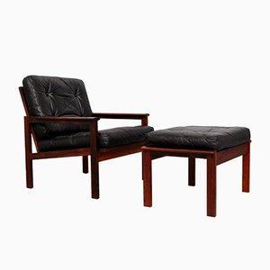 Model Capella Easy Chair by Illum Wikkelsø for Niels Eilersen, 1960s