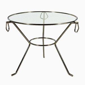 Französischer Mid-Century Dreibein Tisch, 1950er