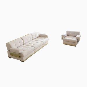 Vintage Sofa und Sessel Set von Gian Pierro Arosio für D.A.S., 1970er