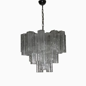 Chandelier in Murano Glass from Venini, 1960s