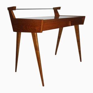 Schreibtisch aus Birke, 1950er