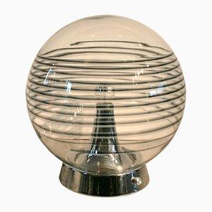 Floor Lamp with Large Murano Glass Globe, 1970s