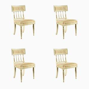 Antique Sengustavian Chairs, Set of 4