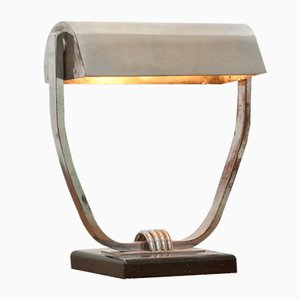 Table Lamp by Jacques Adnet, 1930s