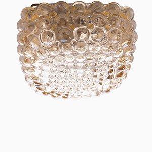 Lampada Mid-Century con bolle in vetro di Helena Tynell per Limburg, anini '60