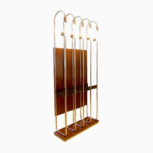 Italian Chrome-Plated Coat Rack, 1970s
