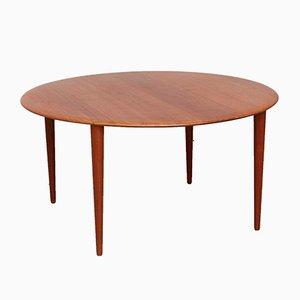 Table Basse Vintage par Peter Hvidt & Orla Mølgaard-Nielsen pour France & Søn