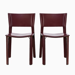 S91 Chair by Giancarlo Vegni for Fasem, 1990s, Set of 2