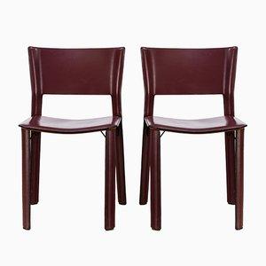 S91 Stuhl von Giancarlo Vegni für Fasem, 1990er, 2er Set
