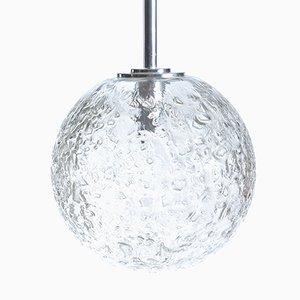 Lampada da soffitto grande sferica di Doria, anni '70