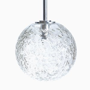 Large Globe Ceiling Light from Doria, 1970s