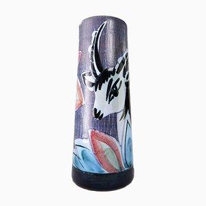 Vase Gazelle Mid-Century Moderne en Céramique par Nila Ceramics, 1960s