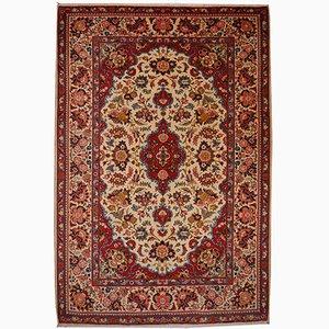 Nahöstlicher Vintage Kashan Teppich, 1950er