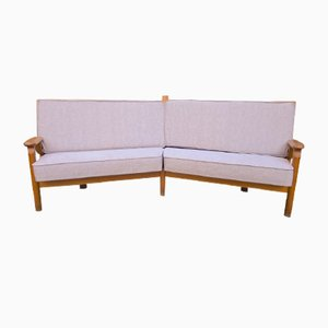 Sofa by Guillerme et Chambron, 1960s