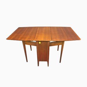 Table Gateleg en Noyer, 1970s
