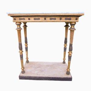 Antiker Gustavianischer Konsolentisch