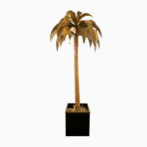 Lampada da terra a forma di palma di Maison Jansen, anni '70