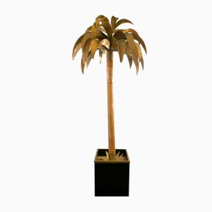 Palm Tree Floor Lamp by Maison Jansen, 1970s