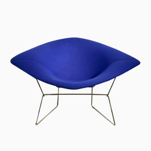 Vintage Model 422 Diamond Chair by Harry Bertoia for Knoll