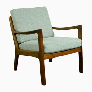 Teak Lounge Chair by Ole Wanscher for France & Son, 1960s